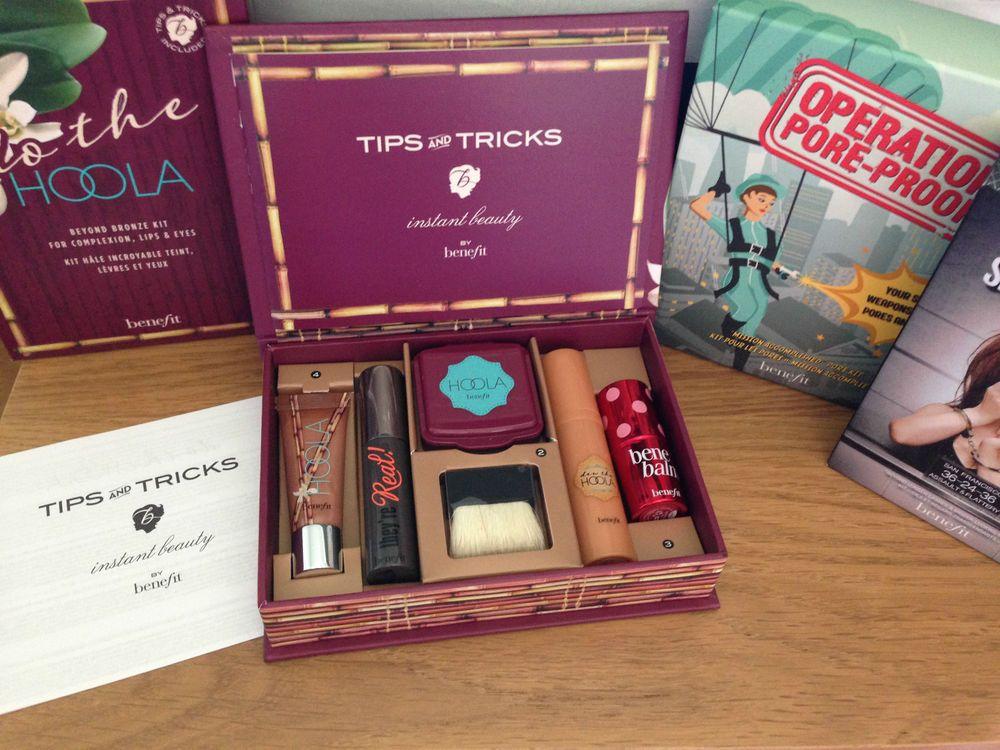 00990cdae4e Make Up Kit BENEFIT DO THE HOOLA Bronzer Lip Gloss Mascara Powder Lip  Condition
