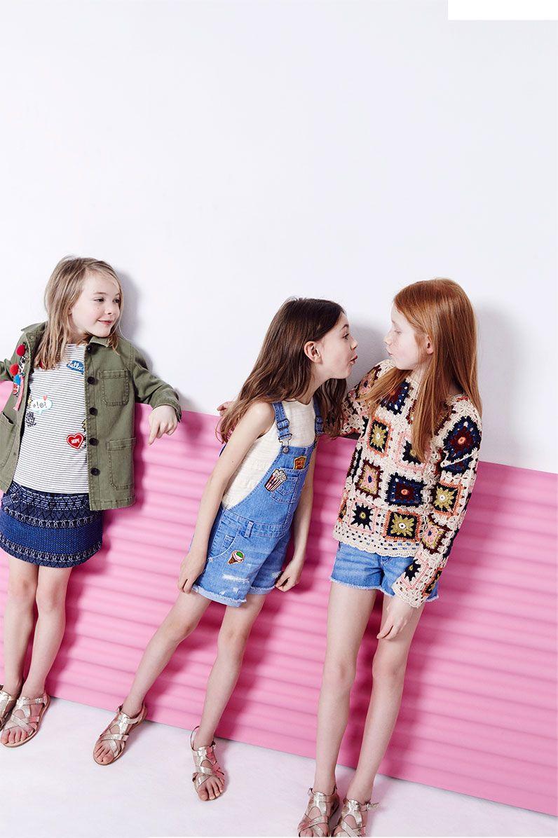 a5497e728 ZARA - #zaraeditorials - GIRLS / THE SPRING REPORT | LITTLE STYLE ...