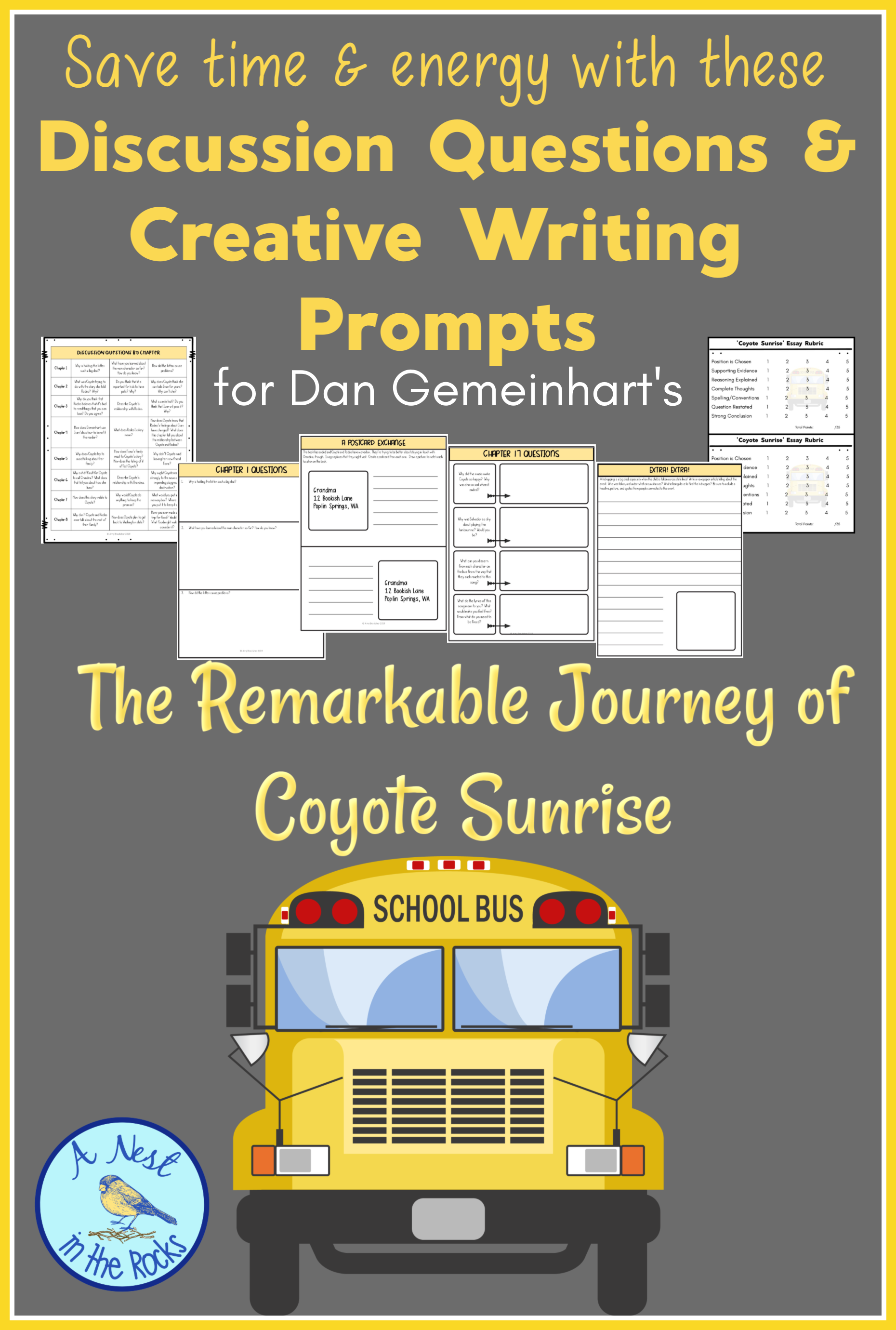 The Remarkable Journey Of Coyote Sunrise Characters