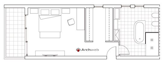 Letto zona notte dwg - sleeping area 2   bagno   Pinterest ...