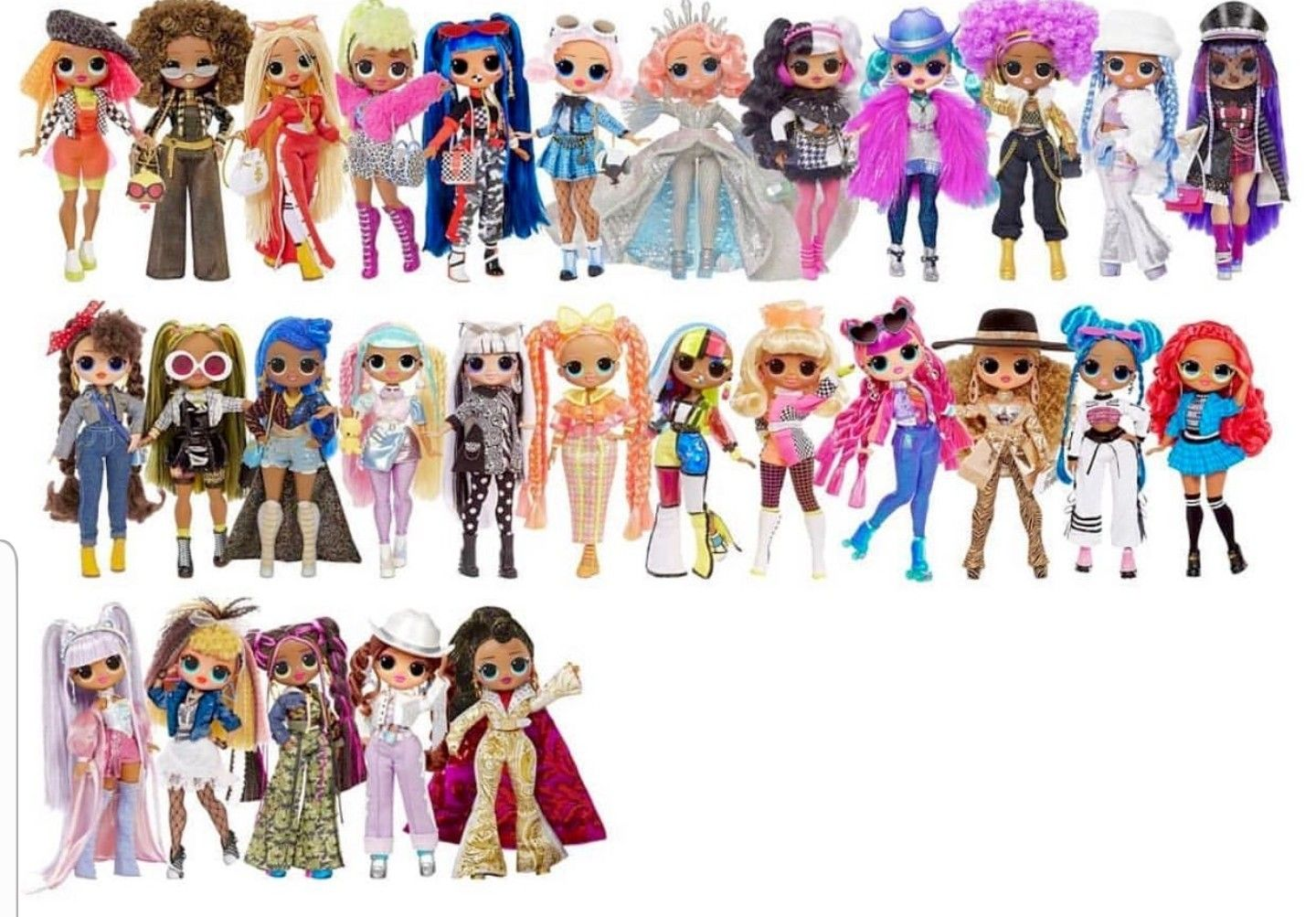 All Lol Surprise Omg Lol Dolls Cute Dolls Girl Cartoon