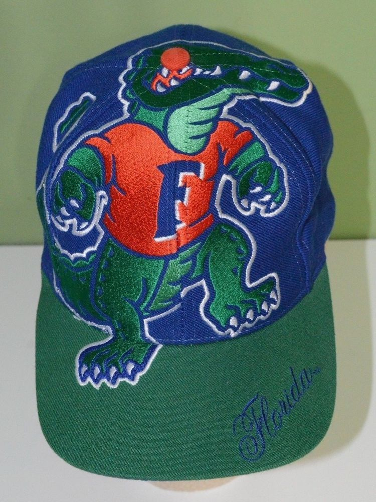 check out 009a9 1a727 Florida Gators The Game Big Logo Vintage Hat Cap Snapback
