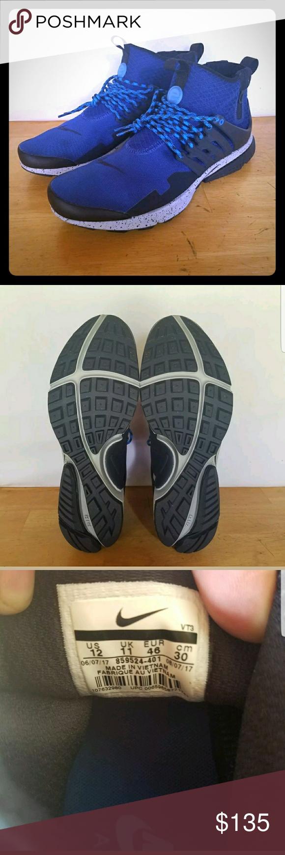 sale retailer 139ef 3218d Nike Air Presto Mid Utility Size US 12 Mens Shoes Nike Air Presto Mid  Utility Size