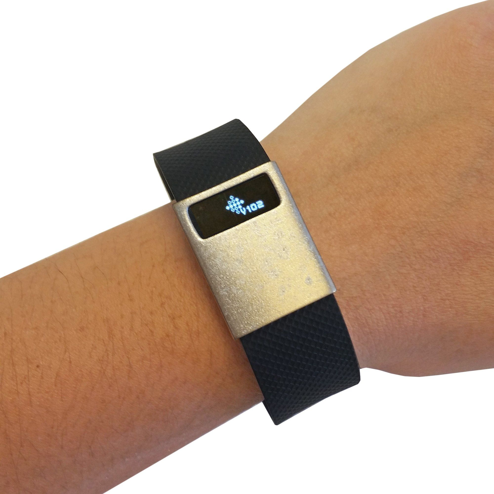 Fitbit chargecharge hr slide on accessory premium unisex