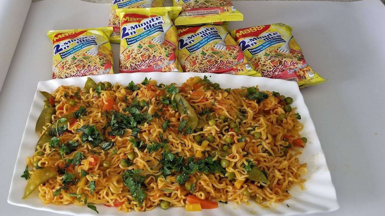 The best cooking videos maggi recipe easy and fast food recipe maggi food forumfinder Images