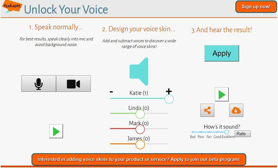 Modulate Es Un Modulador De Voz Online Con El Que Podemos Modificar Como Suena Nuestra Voz Podemos Modular Grab How To Apply Adding And Subtracting Your Voice