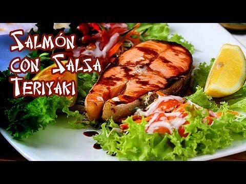 Salmon con Salsa Teriyake Especial de Limon - YouTube