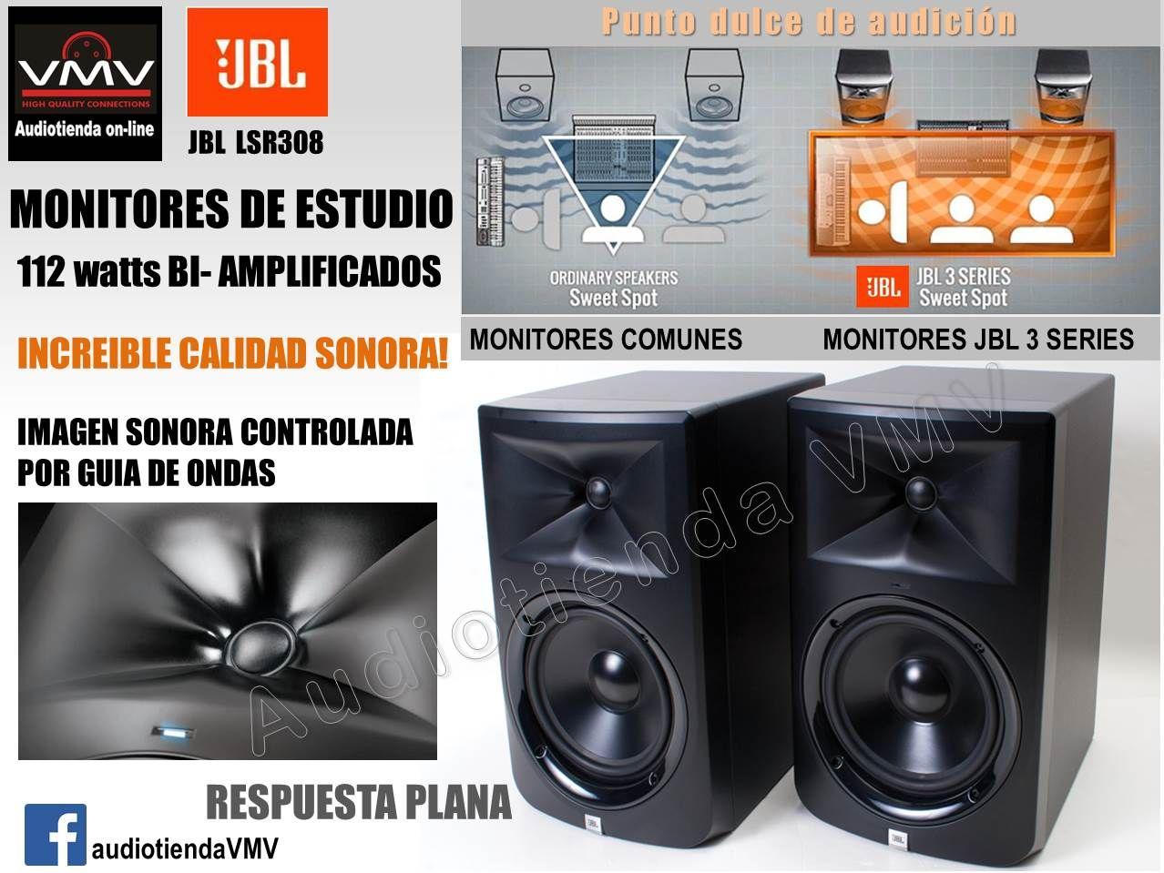 Monitores de estudio JBL