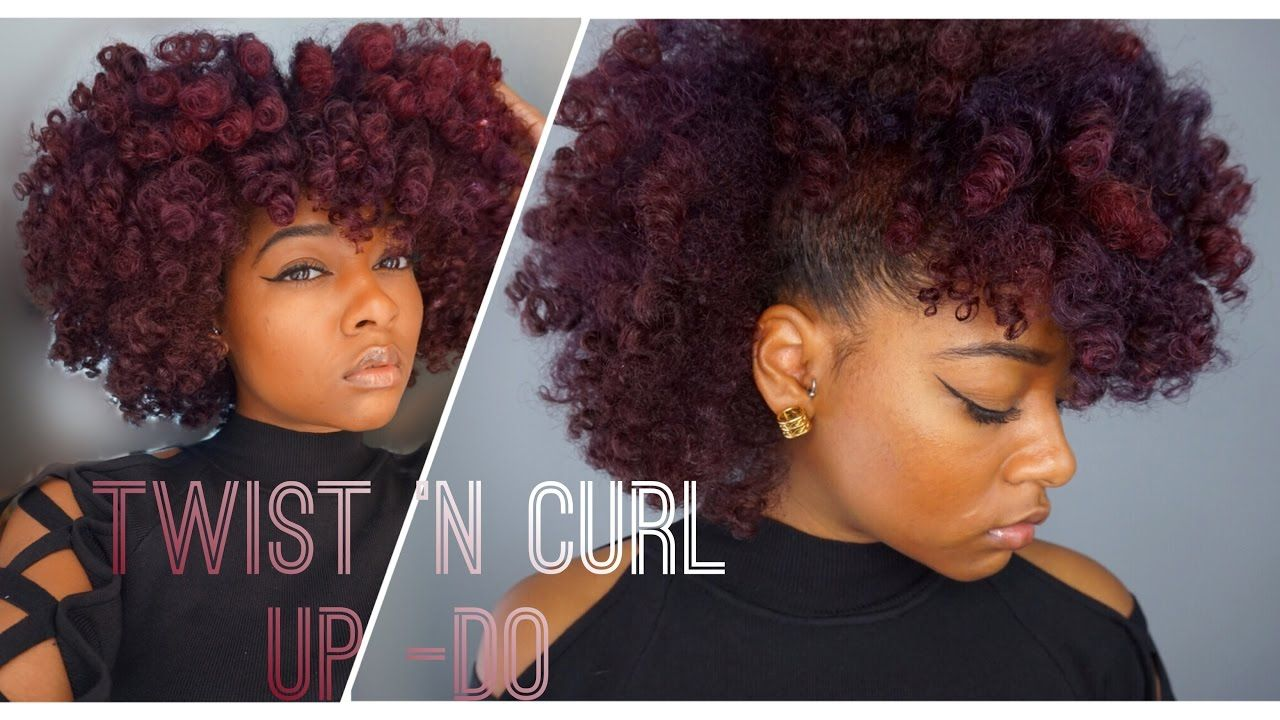 Natural Hair Frohawk Style + Mielle Organics Review [Video