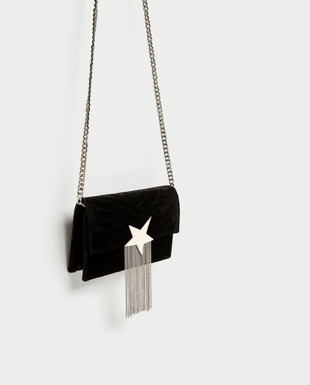 850f29c871 Image 1 of CROSSBODY BAG WITH STAR DETAIL from Zara Zara United Kingdom