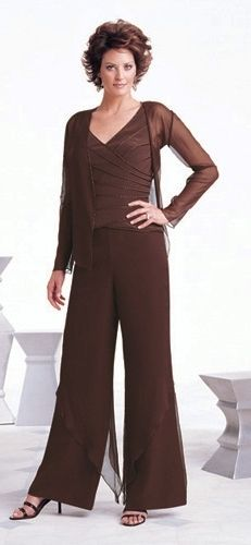 Traje formal mujer noche pantalon