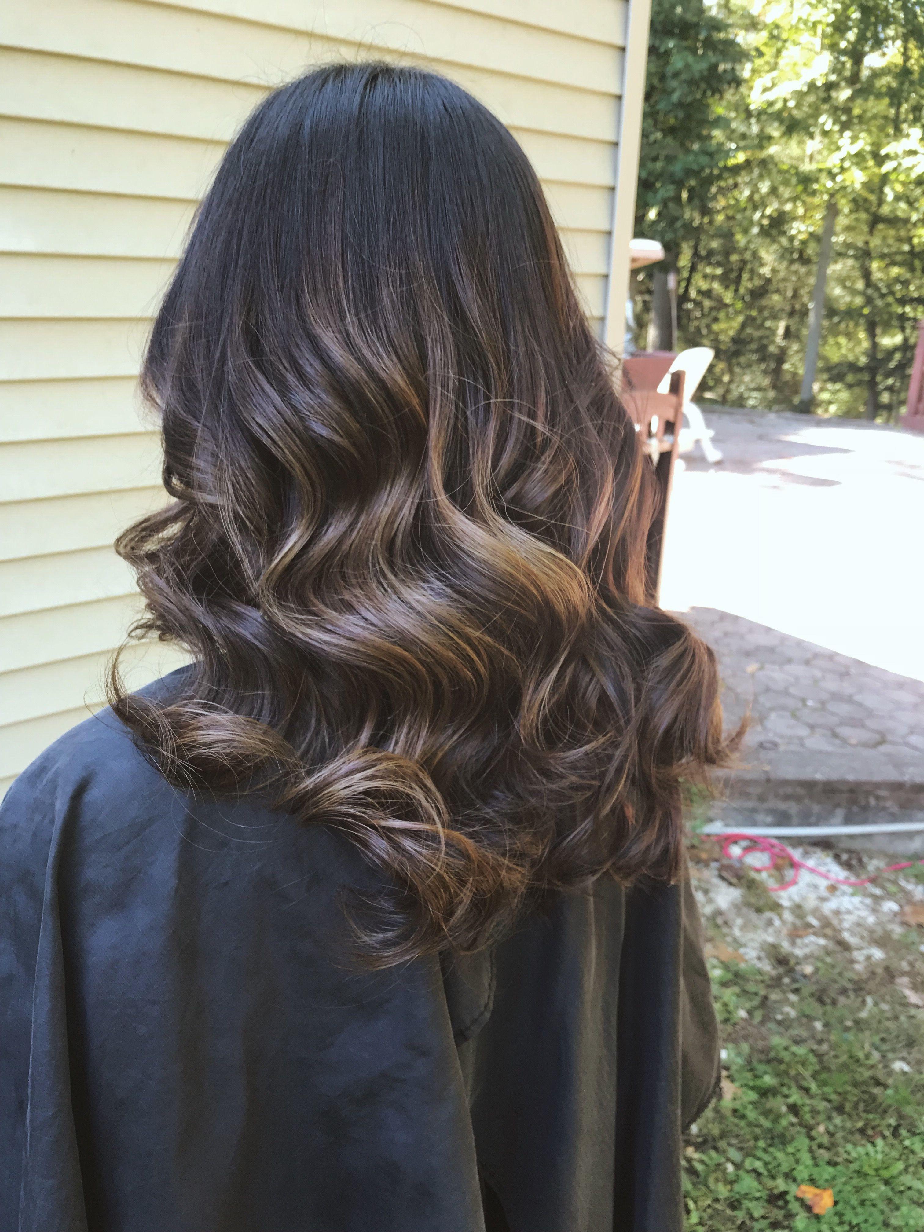 Ballayage Blond tout mocha/caramel partial balayage | hair | pinterest | partial balayage