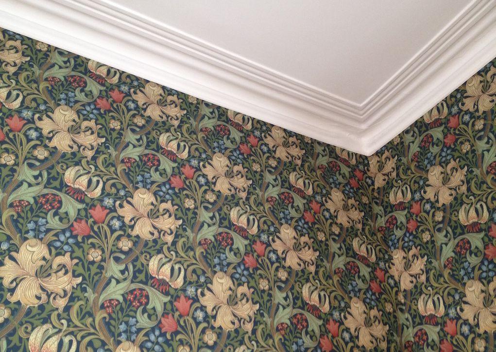 William Morris Golden Lily William morris wallpaper