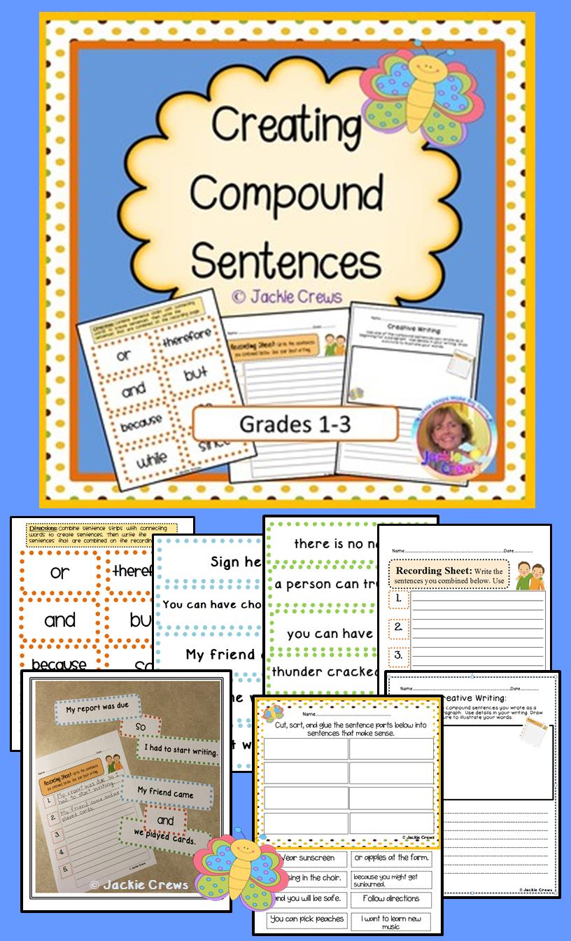 Compound Sentences Hands On Center Creating Compound Sentence Structure Sentence Structure Compound Sentences Sentences [ 1344 x 816 Pixel ]