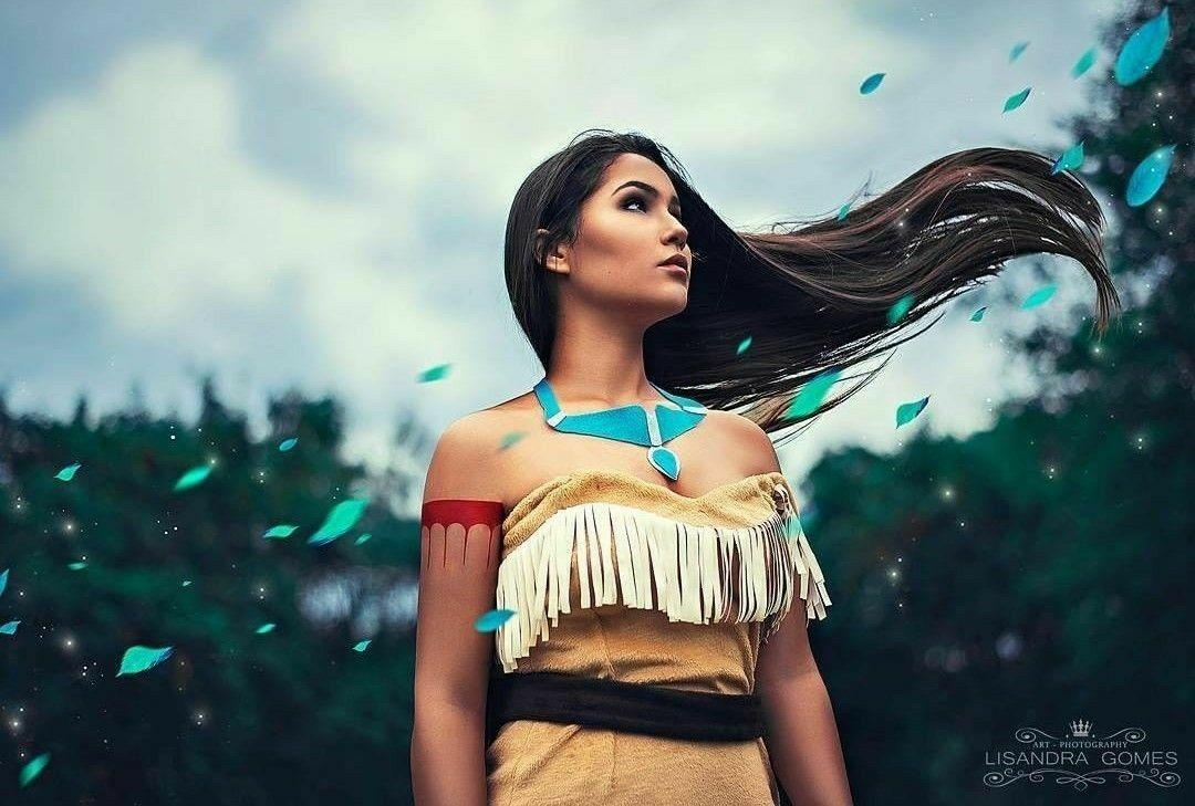 Pocahontas cosplay  7cd9361e0bf60