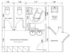bagni pubblici dwg - servizi igienici per il pubblico (2)   Progetti ...