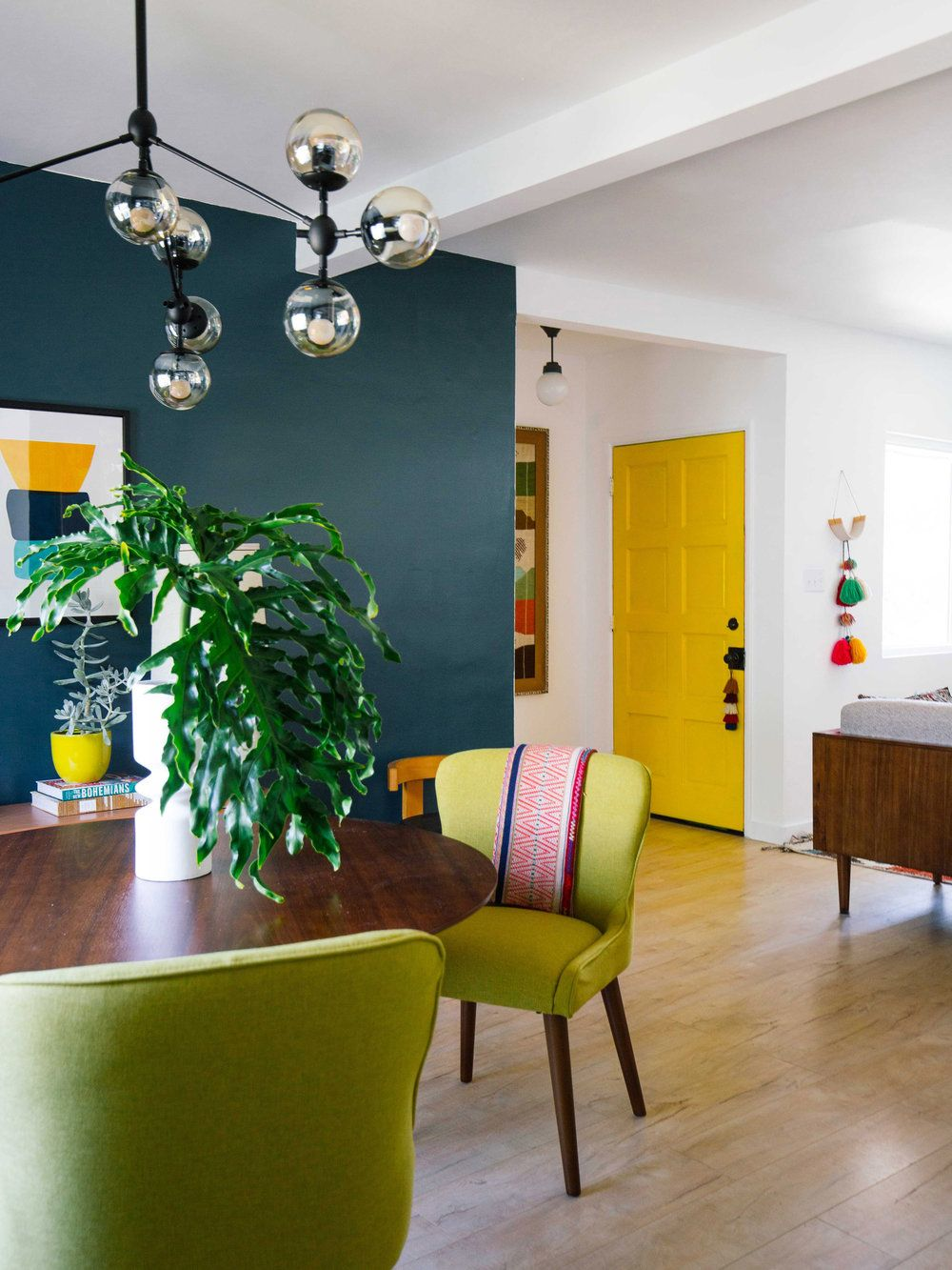 How To Use Color In An Open Floor Plan Colourful Living Room
