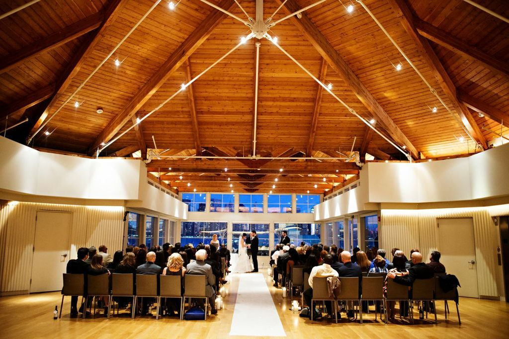 Ceremony In Aviary City Wedding Venues Jersey City Wedding Wedding Venues