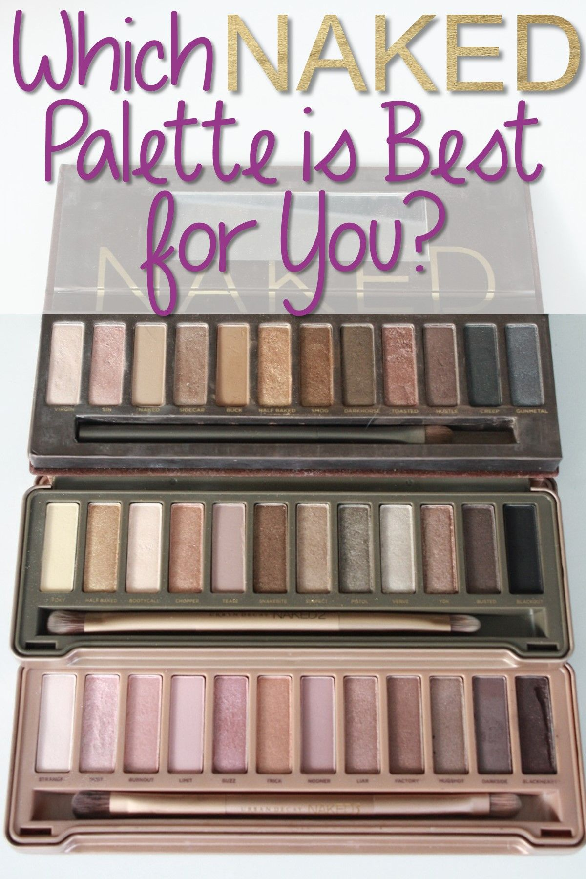Find Out Which Urban Decay Naked Palette Is Right ForYou forecast