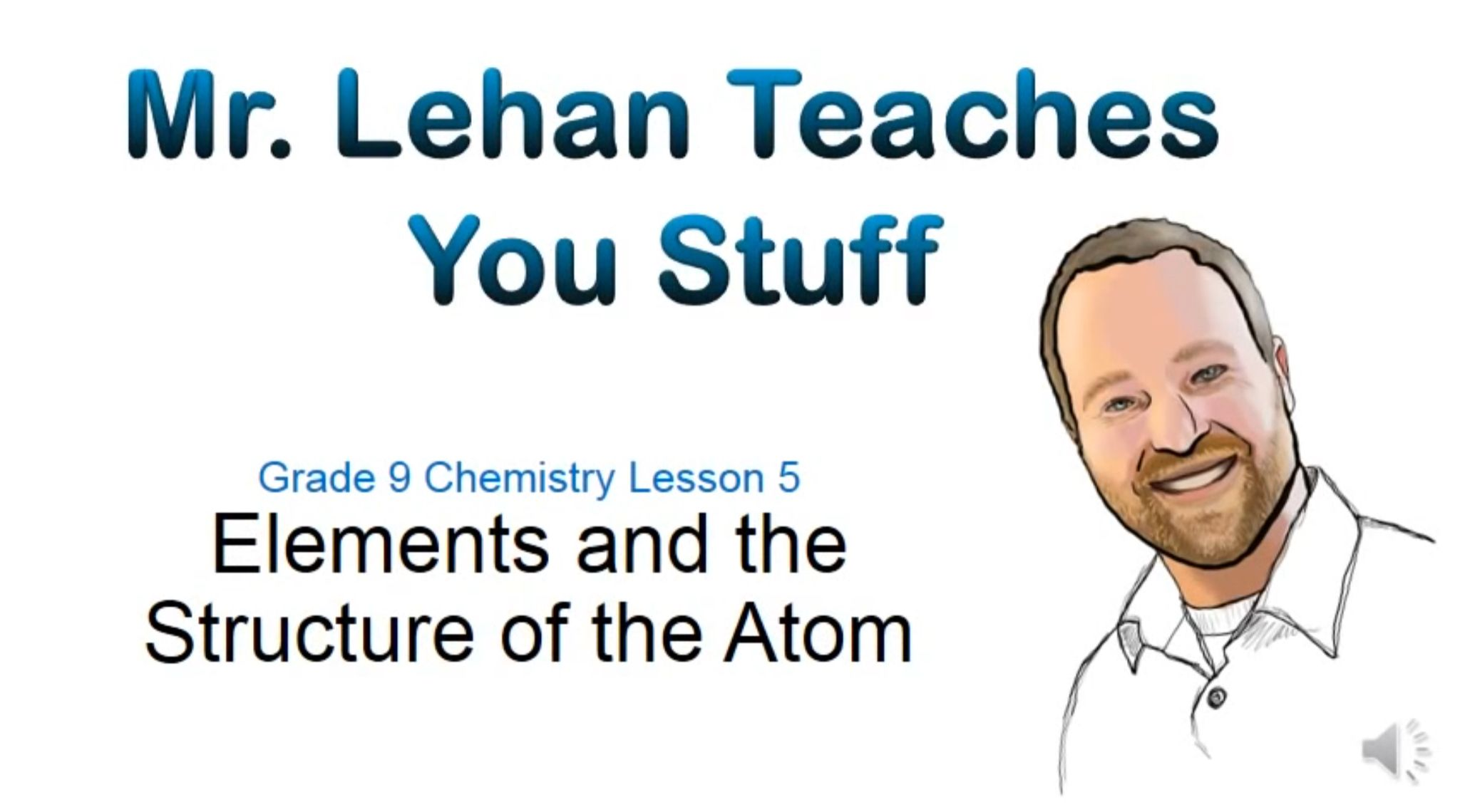 Elements And The Structure Of The Atom