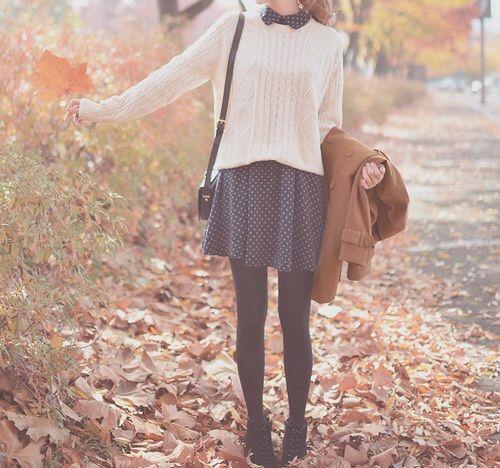 Una de las mejores temporadas para usar outfits hermosos.