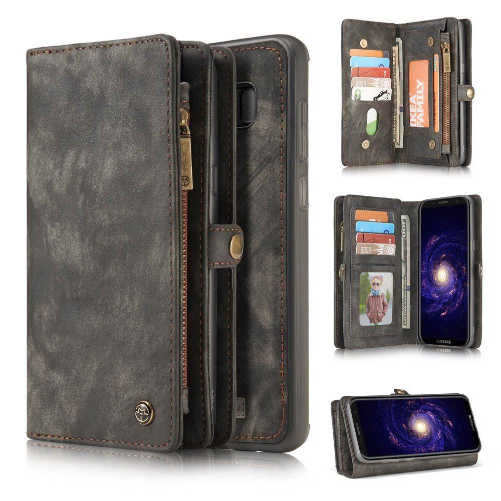 Caseme samsung galaxy s8 plus zipper wallet folio