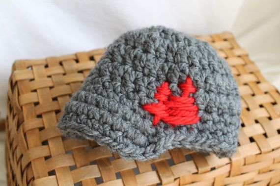 Crochet Brimmed Beanie Hat for Baby Boy by andwhatnotboutique at Etsy - $14.00