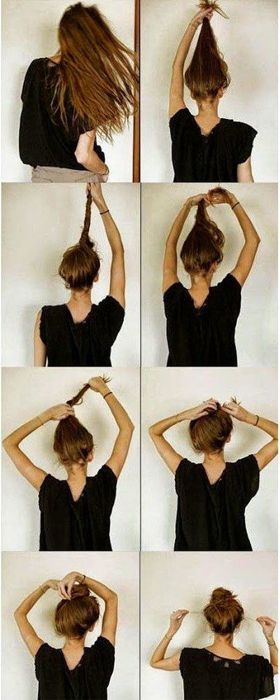 Messy Bun Hacks Tips Tricks Hair Styles For Lazy Girls How To Long Thin Hair Messy Hairstyles Long Hair Styles