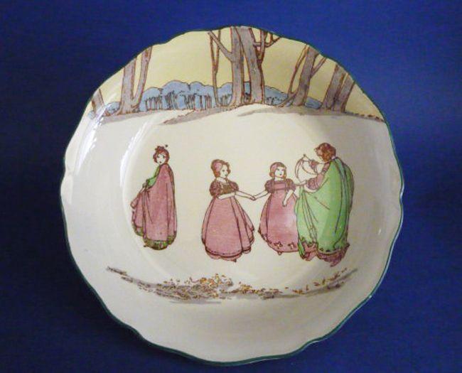 Royal Doulton 'Springtime' Series Child's Bowl D3119 c1932