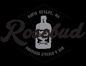 http://rosebudkitchen.com/ Header transition - logo in hero to logo in headernav. Great textures!