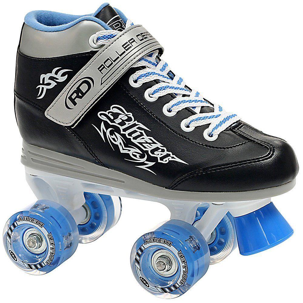 Quad roller skates amazon - Amazon Com Roller Derby Blazer Boy S Lighted Wheel Roller Skate Childrens Roller Skates