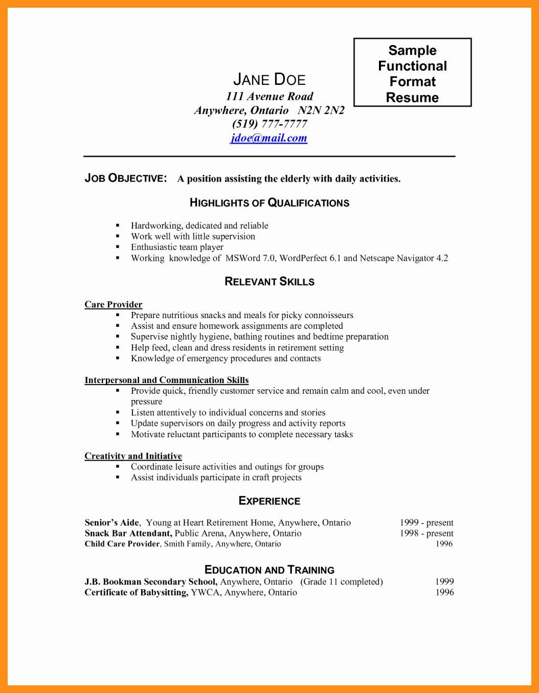 20 Caregiver Job Description Resume In 2020 Caregiver Skills