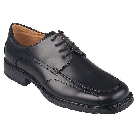 Daxx Men's Lace-up Square Toe Dress Shoes, Size: Black