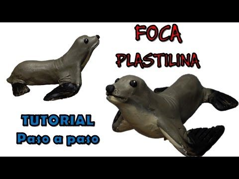 Como Hacer Una Foca De Plastilina How To Make A Seal With Clay Youtube Plastilina Foca Pesebres Manualidades
