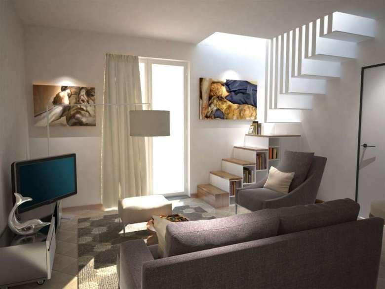Come arredare il soggiorno con il grigio (Foto 24/40 ...