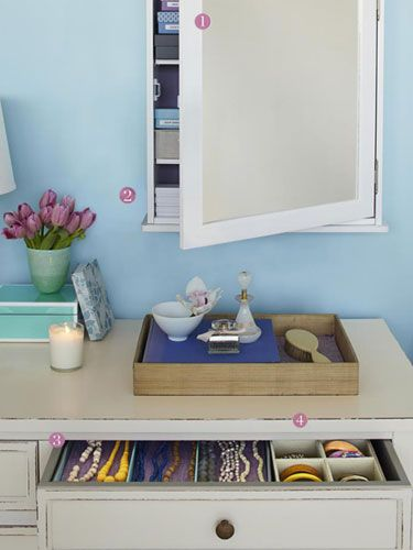 Organizing tips for the whole house + office.