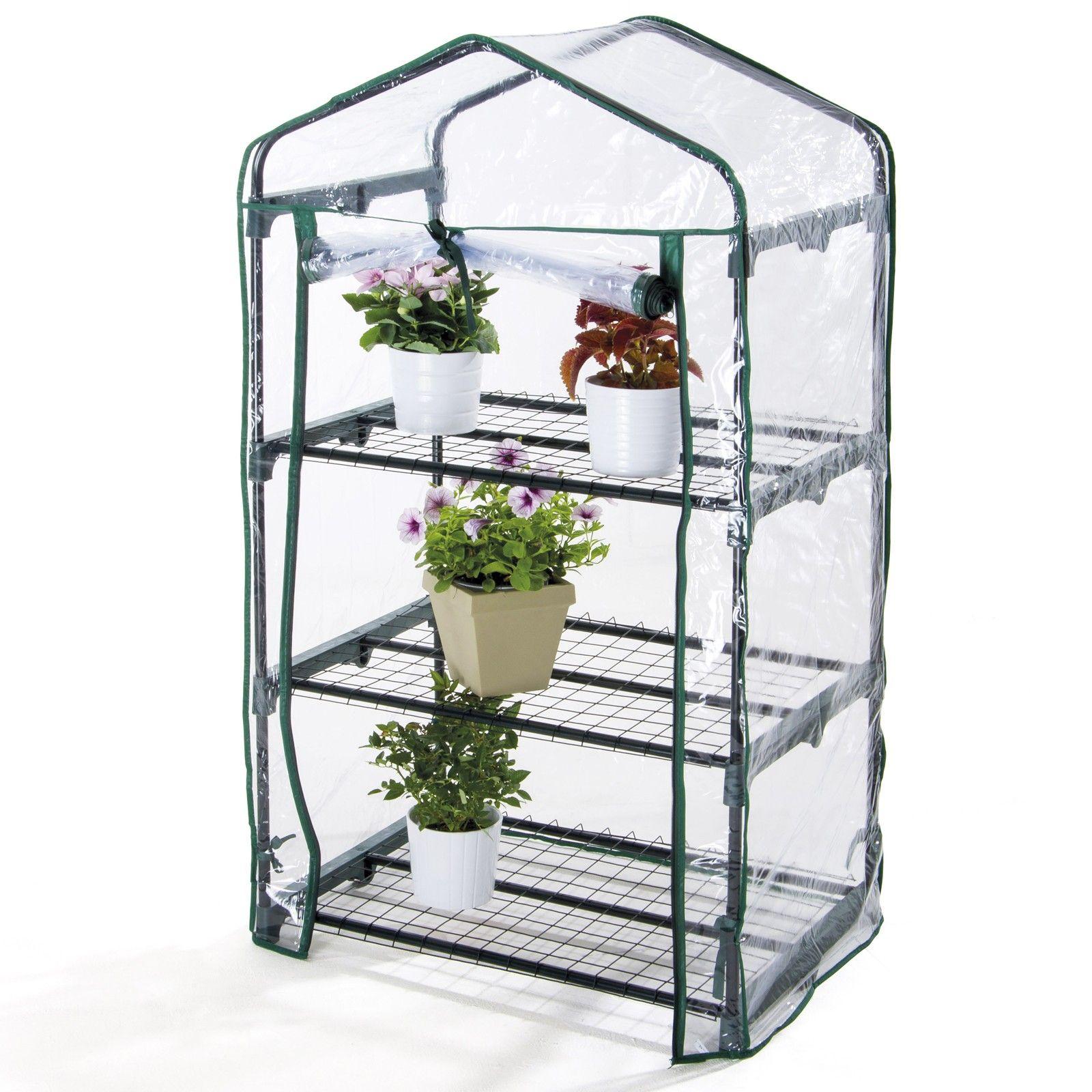 Justmoment serra da giardino terrazzo balcone per piante for Mini serra da balcone