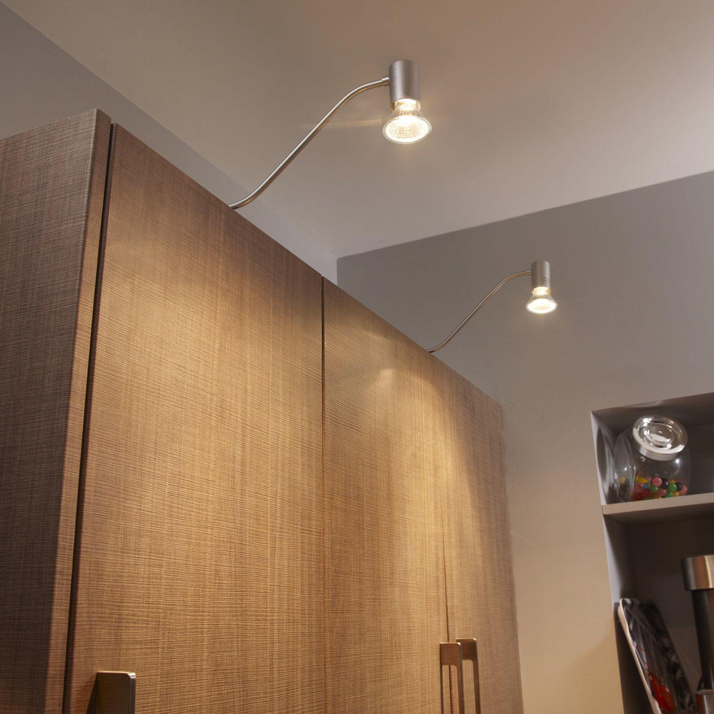 Spot Dessus De Meuble Lagos Inspire Metal Gris 42 Watts Home Decor Wall Lights Ceiling Lights