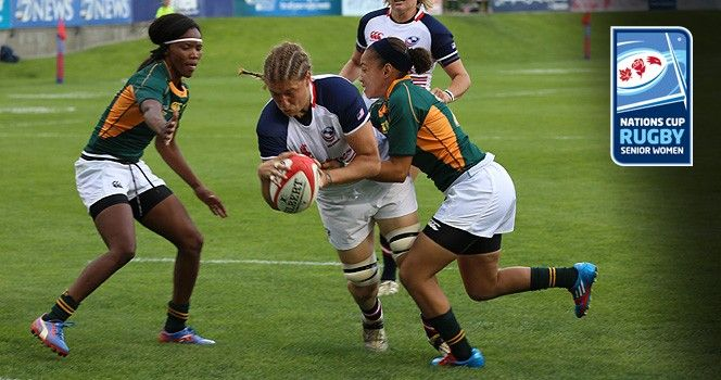 Great Win By The Usa Women S Rugby Team Against South Africa Nations Cup Womens Rugby Usa Rugby