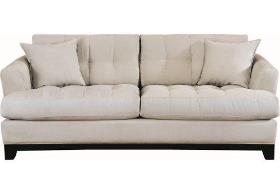 Cindy Crawford Sofa Light Blue Leather Couch Blue Sofa Sofa