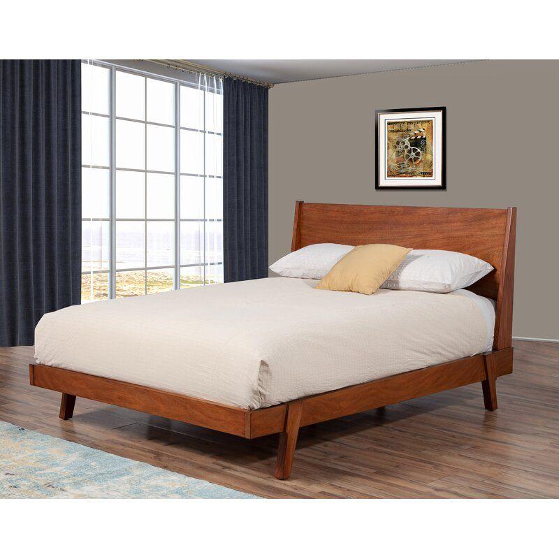 George Oliver Oglethorpe Platform Bed Wayfair In 2020 Bed Sizes Platform Bed Furniture