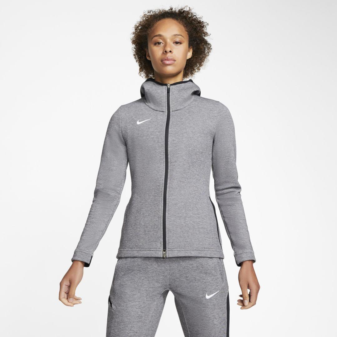 Nike Dri Fit Showtime Women S Full Zip Basketball Hoodie Stock Nike Cloth Hoodies Nike Dri Fit Womens Tops [ 1080 x 1080 Pixel ]