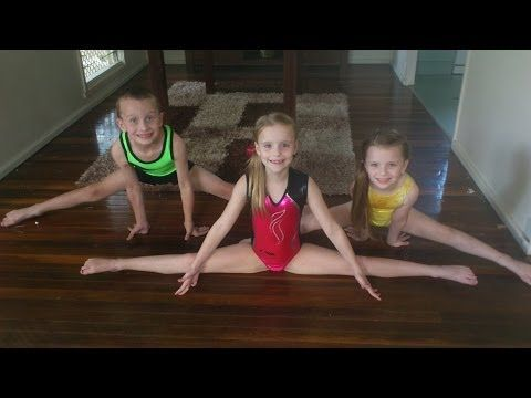 splits class how to do the splits tutorial for young girl