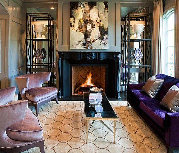 Trend Spotting Agate In Home Decor Interior Design Art Brilliant Www Interior Design Of Living Room Inspiration