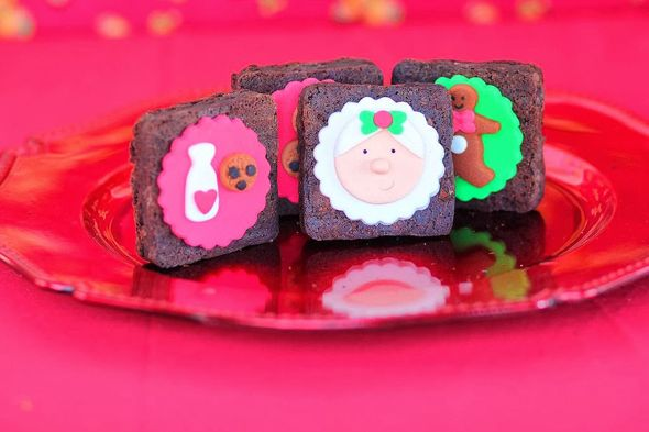 Amazing details in this Mrs. Claus Cookie Shop Party! #mrsclaus #cookie #shop #party #holiday #christmas