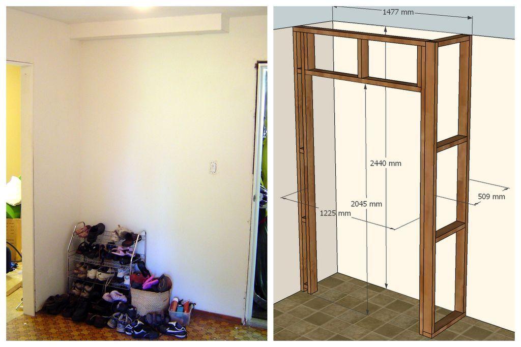 Built-in Wardrobe | Built in wardrobe, Diy built in ...