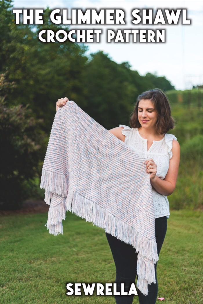 Photo of Crochet Glimmer Shawl – free pattern