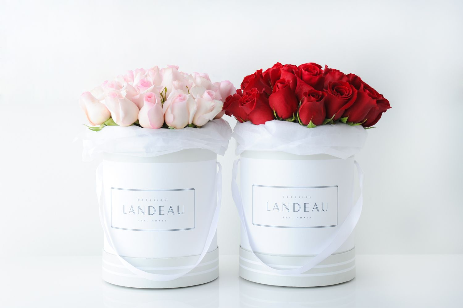 Luxuriously Simple Landeau Luxury Bouquet Rose Beautiful Blooms