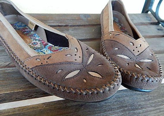 Hush Puppies Brown Suede Ladies Shoes