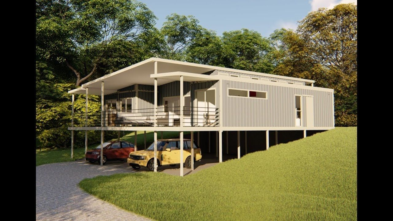 2 Bedroom 1 Extra Room Shipping Container Home In Qld Australia